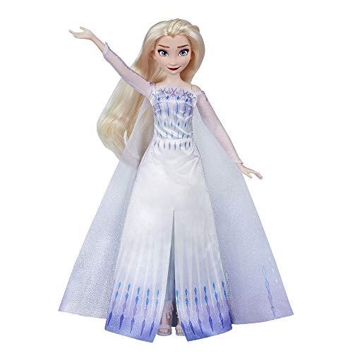 Disney Frozen Musikalisches Abenteuer ELSA singende Puppe, singt 'Show Yourself' Song aus Disney's Frozen 2 Film, ELSA Spielzeug für Kinder