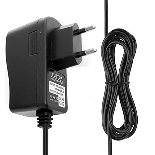 Yustda Netzteil Ersatz für Angelcare Bebe Sounds AC201 & AC201-2P Babyphone Netzkabel Kabel Ladegerät Netzteil