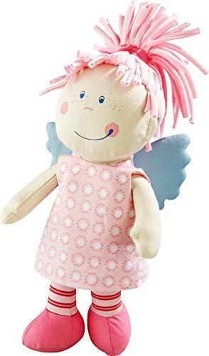 HABA HA-158 3951 - Schutzengel Tine, weiche Stoffpuppe für Kinder von 0-5 Jahren zum Spielen und Kuscheln, Prima Geschenk zur Geburt, Taufe oder dem 1 Geburtstag
