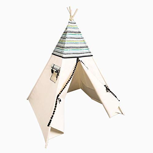 cozydots - Tipi Zelt für Kinder - Kinderzelt Zimmer Deko für Mädchen und Junge - Spielzelt - Aztec 2