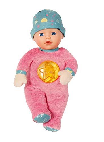 BABY born Nightfriends 30cm Puppe - Integriertes Nachtlicht - Leicht für Kleine Hände, Kreatives Spiel fördert Empathie & Soziale Fähigkeiten, für Neugeborene - Inklusive Mütze