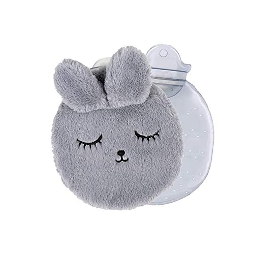 Wärmflasche,Bettflasche mit Bezug,Wärmflasche mit Bezug Flauschig,Bettflasche,Wärmflasche tier,Wärmflasche mit Bezug,für Kinder und Erwachsene,für den Hand Fuß Körper Warmhalten Wärmeflasche
