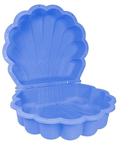 Sandmuschel Paradiso Toys Wassermuschel blau, 2 TLG. 87 x 78 x 19,5 cm