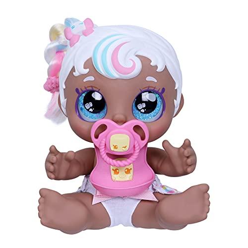 Kindi Kids 50128 Baby Puppe 16,5 cm und 2 Accessoires
