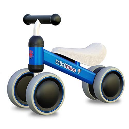 XIAPIA Kinder Laufrad ab 1 Jahr | Spielzeug Lauflernrad mit 4 Räder für 10 - 24 Monate Baby, Erst Rutschrad Fahrrad für Jungen/Mädchen als Geschenke