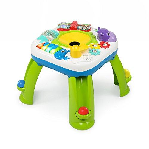 Spieltisch mit Ballrampe, Lichtern und Musik