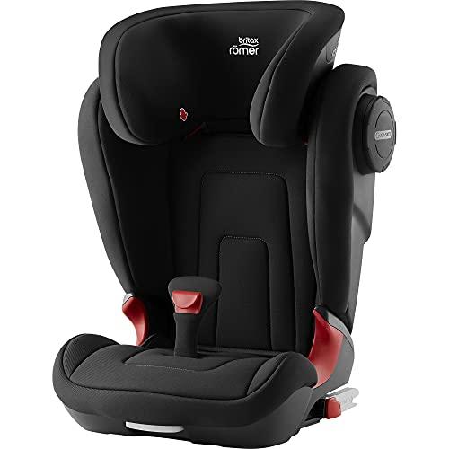 BRITAX RÖMER Kindersitz 15-36 kg KIDFIX 2 S, mit zusätzlichem Seitenaufprallschutz für Kinder (Gruppe 2/3), 3,5 bis 12 Jahre, Cosmos Black