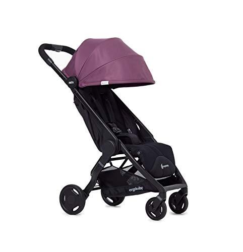 Ergobaby METRO Leichter Buggy Kinderwagen mit Liegefunktion Modell 2020, 6 Monate bis 22 kg Kleinkinder, Pflaume