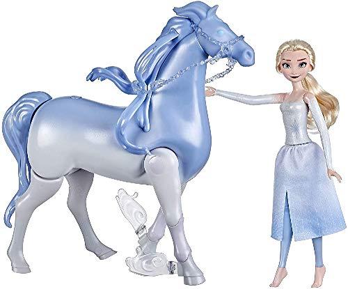 Hasbro E6716 Disneys Die Eiskönigin 2 Wasserzauber und Landspaß ELSA & Nokk, Spielzeug für Kinder, Puppen inspiriert von Die Eiskönigin 2
