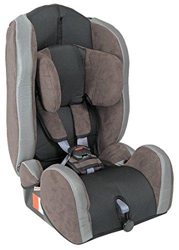 Autokindersitz Kindersitz Kinder Kid Comfort Gruppe I/II/III (9-36 kg) Mit Farbauswahl, Farbe:Braun