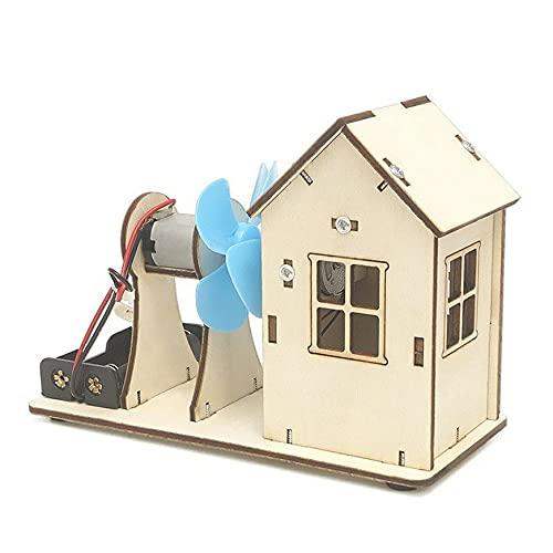 Wind Power Technology Kleine Produktion DIY Material Grundschule Wissenschaft Spielzeug Wissenschaft und Bildung