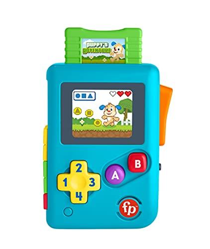 Fisher-Price HBC86 - Lernspaß Lil' Gamer, musikalisches Lern- und Aktivitätsspielzeug, deutsche Sprachversion, für Babys und Kleinkinder von 6 bis 36 Monaten