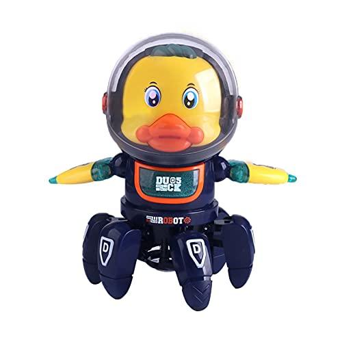 WOTEG Roboter Kinder Spielzeug, Ferngesteuertes Auto Roboter Spielzeug Mit Fernbedienung Für Kinder Ab 6+ Jahren, Süß Aussehen, Interessant Musik, Geschenk Für Jungen Und Mädchen