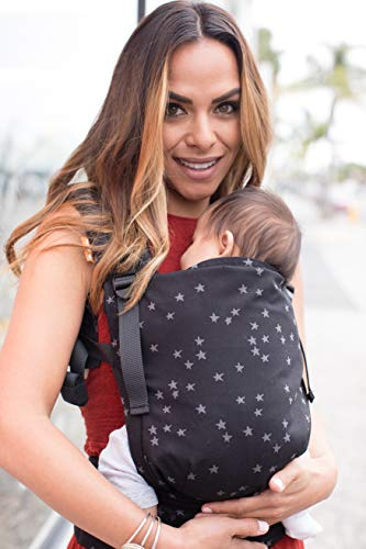 Tula Babytrage Standard Kollektion, Ergonomische Baby-Tragetasche Kindertrage Bauchtrage Rückentrage (Discover)