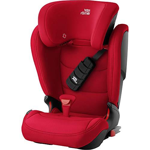 BRITAX RÖMER Kindersitz 15-36 kg KIDFIX Z-LINE, verbesserter Frontalaufprallschutz für Kinder von 15 - 36 kg (Gruppe 2/3), 3,5 bis 12 Jahre, Fire Red