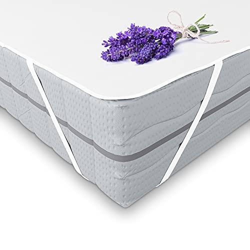 komogrino 60x120 Matratzenschoner, Matratzenschutzbezug - wasserdichte Matratzenauflage - waschbare Unterbetten - wasserfeste Inkontinenzunterlagen - Bett