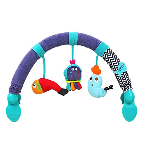 Kawaii Babybett Hängende Plüschtiere Bogen Anhänger Spielzeug Neugeborenes Babybett Krippe Rasseln Sitz Plüsch Kinderwagen Mobile Geschenke Krippe Kinderwagen Zubehör