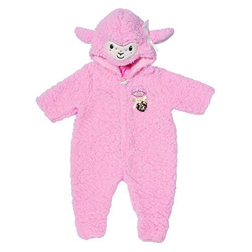Zapf Creation 703588 Baby Annabell Deluxe Schaf Overall mit süßen Details, Puppenkleidung 43 cm