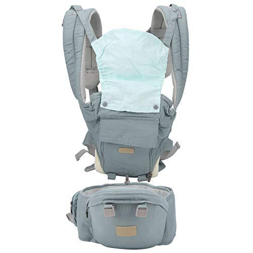 Zerodis Verstellbarer Babytrage Kleinkinder Ergonomischer Verdickender Hüftsitz für Neugeborene und ältere Babys(#1)