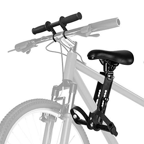 Kinderfahrradsitz Für Mountainbikes Vorne Montierte Fahrradsitze Tragbarer Abnehmbarer Vorneliegender Fahrradsitz Für Kinder Von 2 Bis 5 Jahren Und Bis Zu 48 Pfund (Kinderfahrradsitz + Lenker)