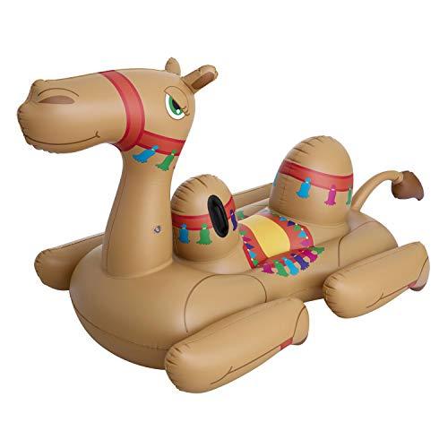 BESTWAY 41125 Camel, Schwimmtier, Mehrfarbig, 2.21-1.32 m