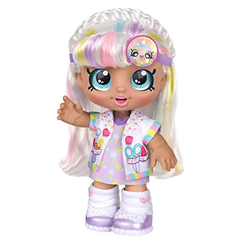 Kindi Kids Moose Toys LTD – 50050 Marsha Mello – Puppe, 25cm mit Accessories inkl. Arztkittel