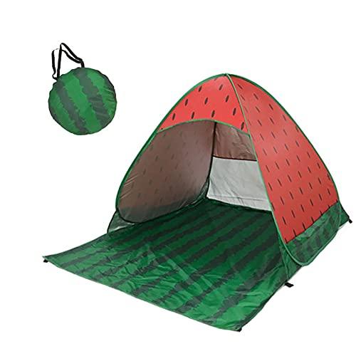YULINGSTYLE Strandmuschel Pop Up, Zelt Outdoor Tragbar Extra Light Strandzelt mit UV Schutz 50+, für Familie, Strand, Garten, Camping für 1-3 Personen