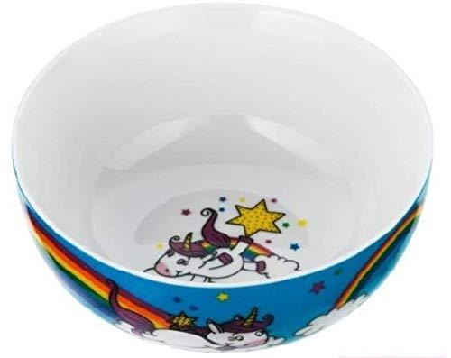 WMF Einhorn Kindergeschirr Kinder-Müslischale 13,8 cm, Porzellan, spülmaschinengeeignet, farb- und lebensmittelecht