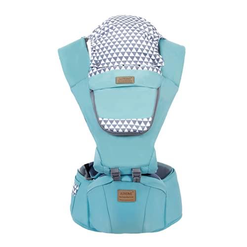 Babytrage – Ergonomische Babytrage mit 6 Tragepositionen – Für Säuglinge und Kleinkinder von 3,5-20 kg