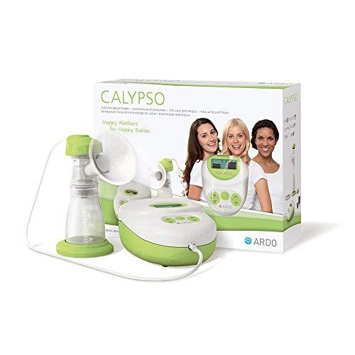 Ardo Calypso elektrische Einzel-Milchpumpe – Ultra leise Muttermilch abpumpen – Kompakte, sichere Milchpumpe mit einfacher Bedienung – BPA-frei – Schweizer Medizinprodukt