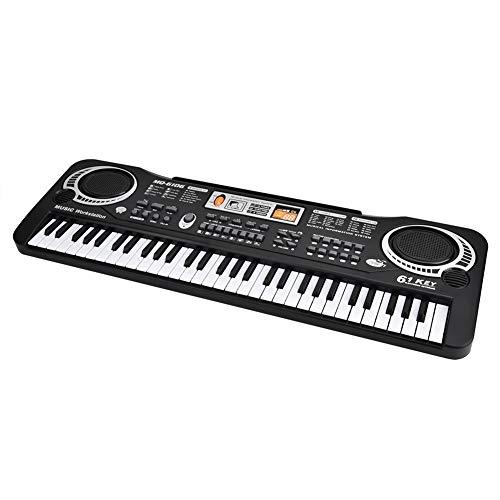 Simply Piano Keyboard Einsteiger Klavier Musikinstrumente Digitalpiano E Klavier Kinder Elektrisches Keyboard Tragbare Digital Piano Musikinstrument mit Mikrofon E Piano 54 X 17.5 X 5.5cm