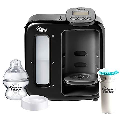 Tommee Tippee Flaschenzubereiter Perfect Prep™ Tag & Nacht, antibakterieller Filter, schwarz, 2600 g