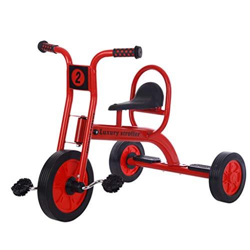 NUBAO Baby-Dreirad für Kinder von 2–8 Jahren, leicht, langlebig, 3 Räder, starker Stahlrahmen für Jungen und Mädchen, Geburtstagsgeschenk, Dreirad für 1–3 Jahre (Farbe: A)