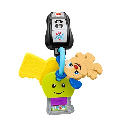 Fisher-Price GRF19 - Fisher-Price Lernspaß Schlüsselbund, Musikspielzeug für Kinder