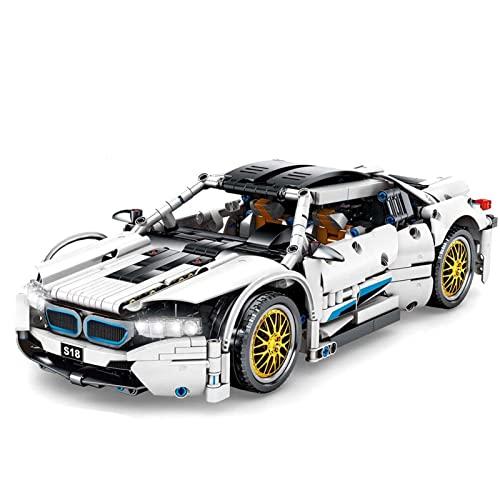 YQRX Technische Bausteine Automodell, 1270 Teile Techniker Auto Bausteine Automodell, kompatibel mit Lego Technic