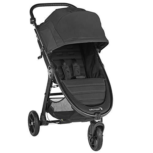 Baby Jogger City Mini GT2 leichter Kinderwagen | für jedes Gelände | Schneller Einhand-Faltmechanismus | Jet (schwarz)