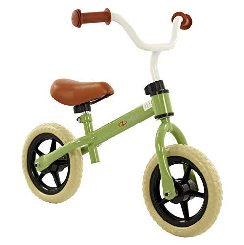 2 Cycle Laufrad für Kinder ab 2 Jahren - Kinderfahrrad mit 10 Zoll Rädern in Pastellgrün