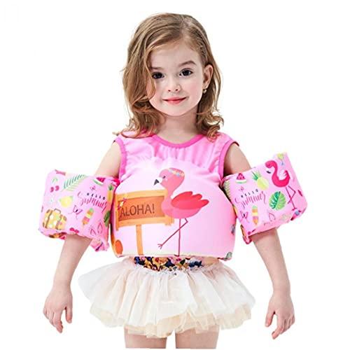 NIDONE Kinderschwarmweste Cartoon-Auftriebs-Badeanzug mit Arm- und Sicherheitsschnalle 14-25 kg style2