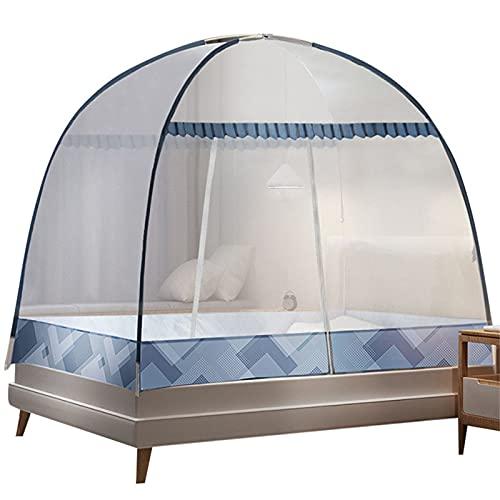 CHLDDHC Pop-Up-Netze Moskitonetz Bettzelt, Faltbares Design Für Schlafzimmer Und Reisen Im Freien, Tragbar Für Baby Kind Kind Erwachsener