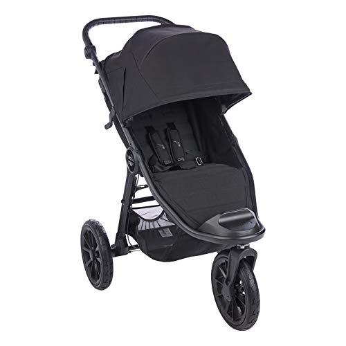 Baby Jogger City Elite2 Kinderwagen für jedes Gelände   Zusammenklappbarer und tragbarer   Jet (schwarz)