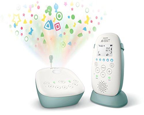 Avent DECT Babyphone - Nachtlicht-Projektor