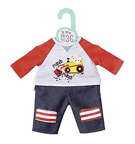 Zapf Creation 870587 Dolly Moda Hose mit Sweatshirt Puppenkleidung 34-38 cm