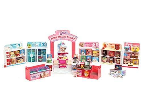 Shopkins HPKG0000 Flair Real Littles Mini Packs Pop Up Shop Spielset, Mehrfarbig, Box Size: H23.5 x W14 x D5.2cm