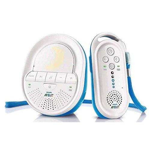Philips Avent SCD505/00 DECT Babyphone (Smart Eco Mode, Schlaflieder)