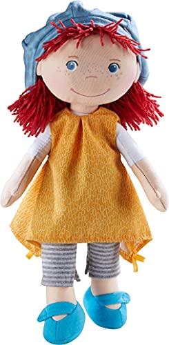 HABA 305970 Puppe Freya, 30cm, ab 1,5 Jahren, mit weichem Körper