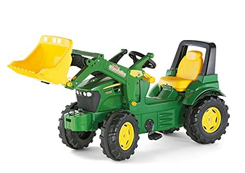Rolly Toys S2671002 710027 - rollyFarmtrac John Deere 7930 Tretfahrzeug (für Kinder ab drei Jahre, Flüsterlaufreifen, verstellbarer Sitz)