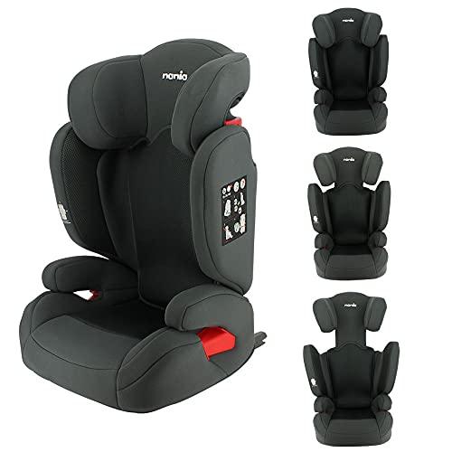Kindersitz, Kindersitz, mitwachsend, FLASH Isofix und/oder Gurt, Gruppe 2/3 (15-36 kg), seitlicher Schutz und neigbare Rückenlehne