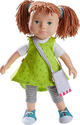 HABA 305585 305585-Spielpuppe Milou, Puppe mit weichem Körper, Gliedmaßen und Kopf aus Vinyl, 32 cm, Spielzeug ab 3 Jahren