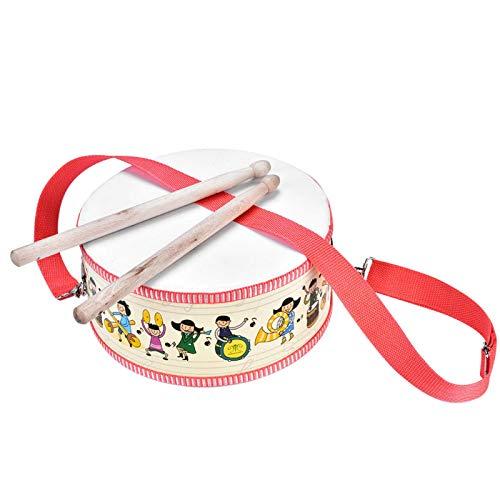 Nuobi Kompaktes Schlaginstrument Spielzeug, Kindertrommel, Exquisite Pädagogik für Kinder Geburtstagsgeschenk Kinderspiele Kinder Musikspielzeug Gesang Tanzpartys