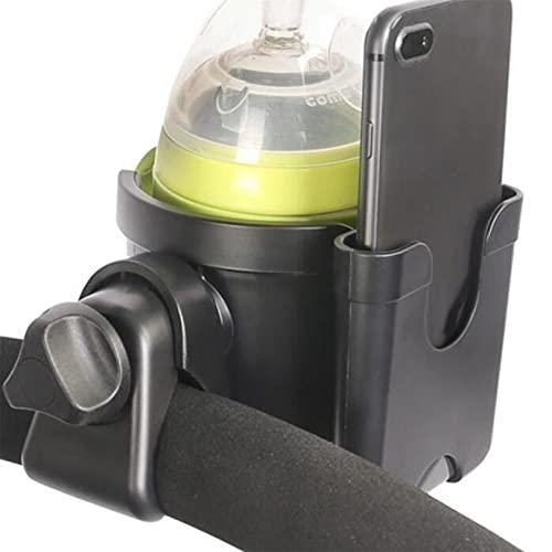 YYZLL Getränkehalter Kinderwagen Getränkehalter mit Handyhalter Kinderwagenzubehör